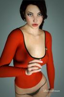 Mia - Redshirt by luxrenderman