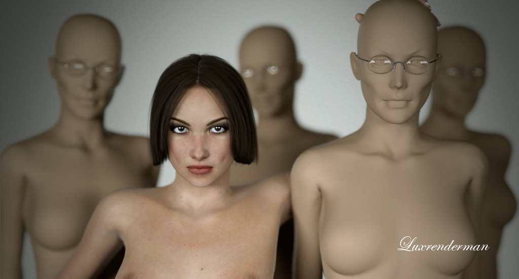 Isobel - I'm no Dummy! - Detail by luxrenderman