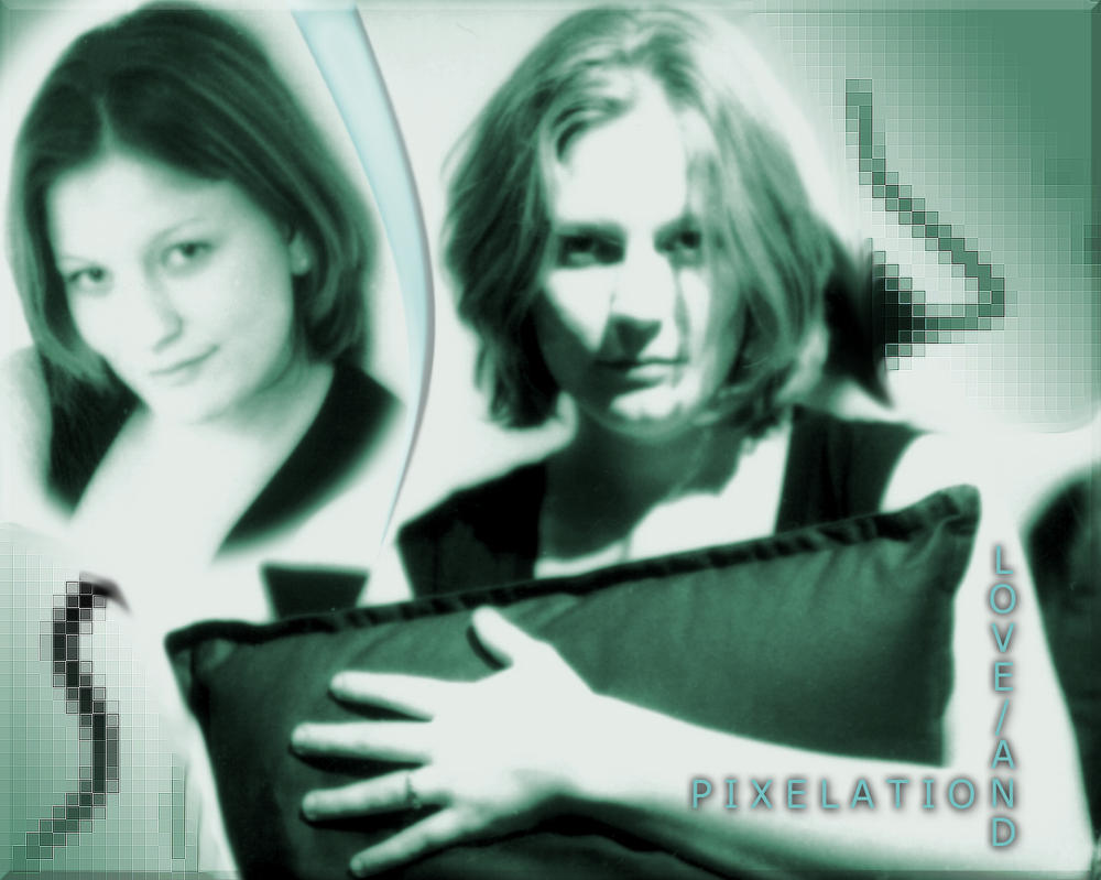Love and Pixelation by cyberchild