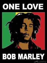 Bob Marley2 by kuryCZE