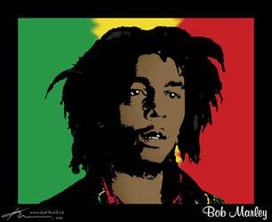 Bob Marley3 by kuryCZE