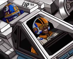 X-Wing Pilot Finn