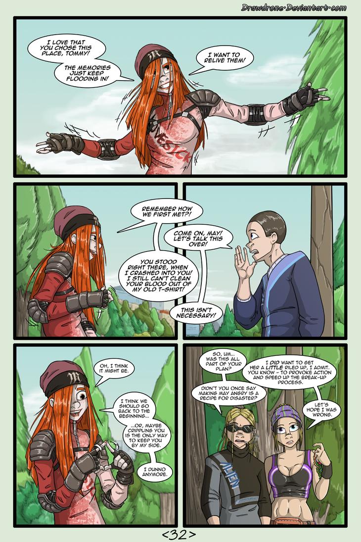 Woman Scorned pg 32 by DrawDrone