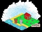 Pixel art - Bear Island by steffne