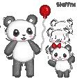 Panda family by steffne
