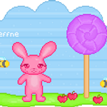 Pixel Pom in Lollyland by steffne
