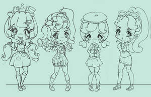 Character Line Up WIP