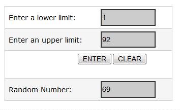 number raffle