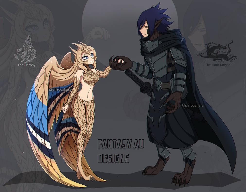 Fantasy AU - Ref Sheet 2
