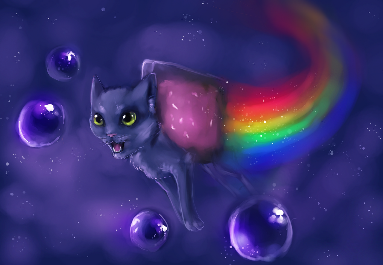 Dessin Cool Kawaii Nyan Cat