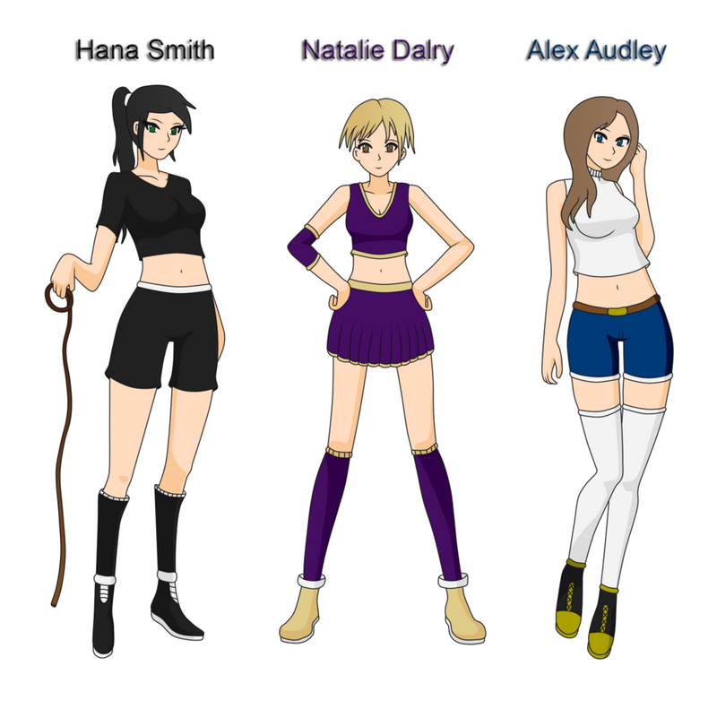 My Three Original OCs: H.N.A by ED3765
