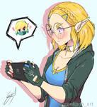 Zelda short hair (shy)