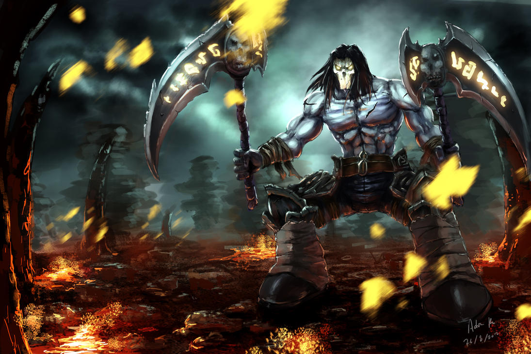 darksiders 2 - deathadrianfu2001 on deviantart
