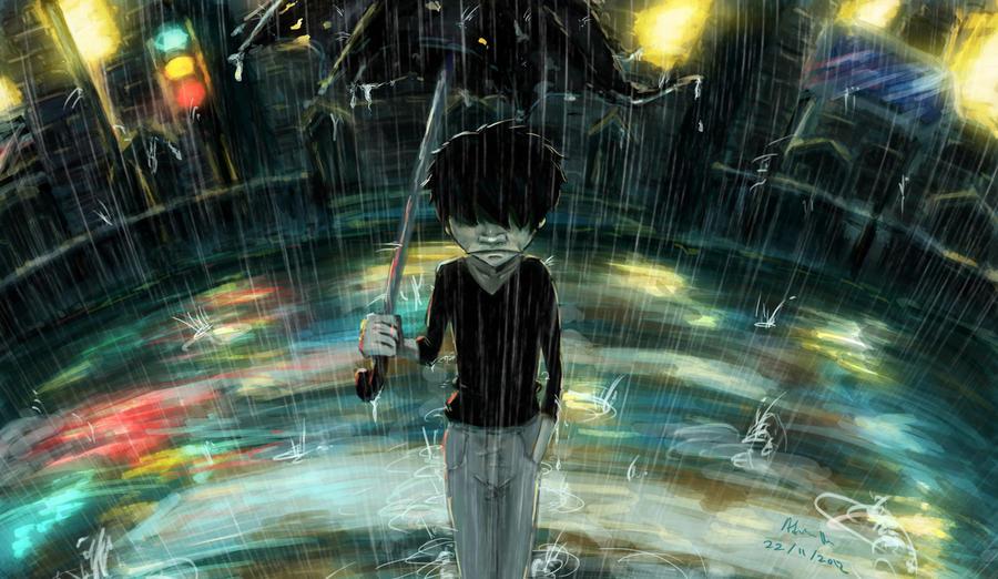 Rain City By Adrianfu2001 On DeviantArt
