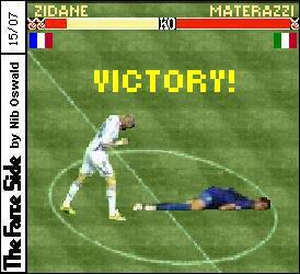 Zidane Kopfstoß von n...