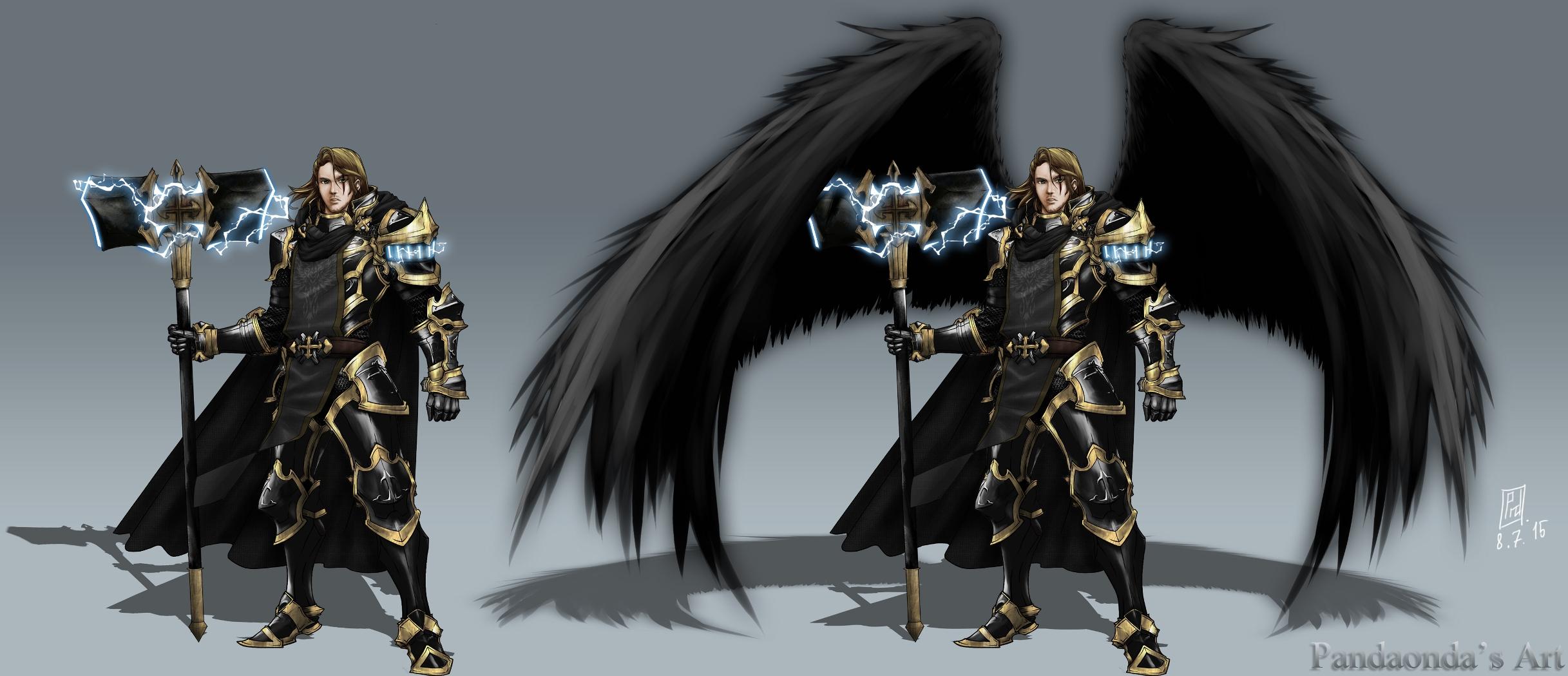 Praetorius new concept (winged and no wings) by PandaOnDA