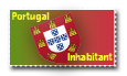 Portuguese Stamp by Sidarta