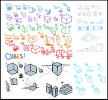 Cube Study Compilation by Skystalker