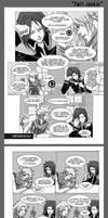 Doujinshi Kingdom Hearts - Twit Junkie by Ekeen