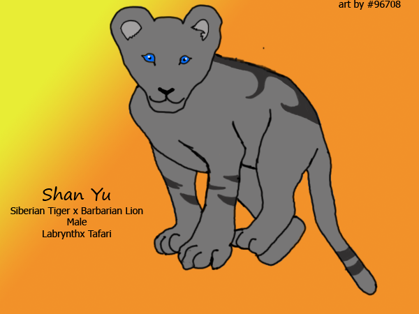 Shan Yu by XxReixX