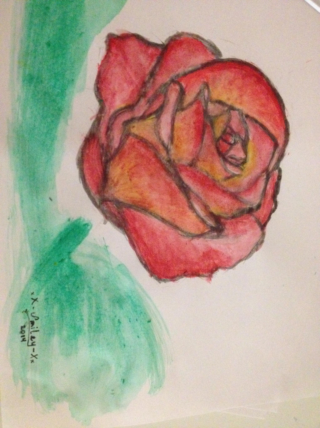 Smiley rose 🌹 Rose