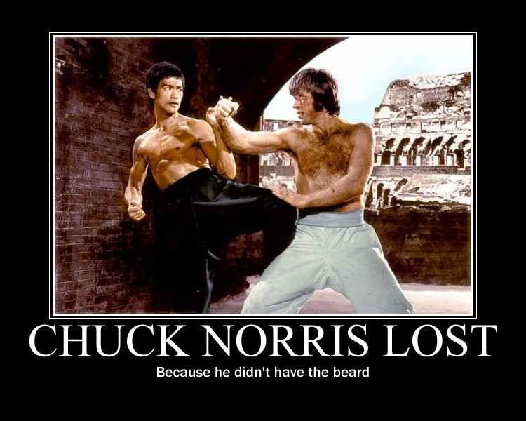 Chuck Norris lost by D...