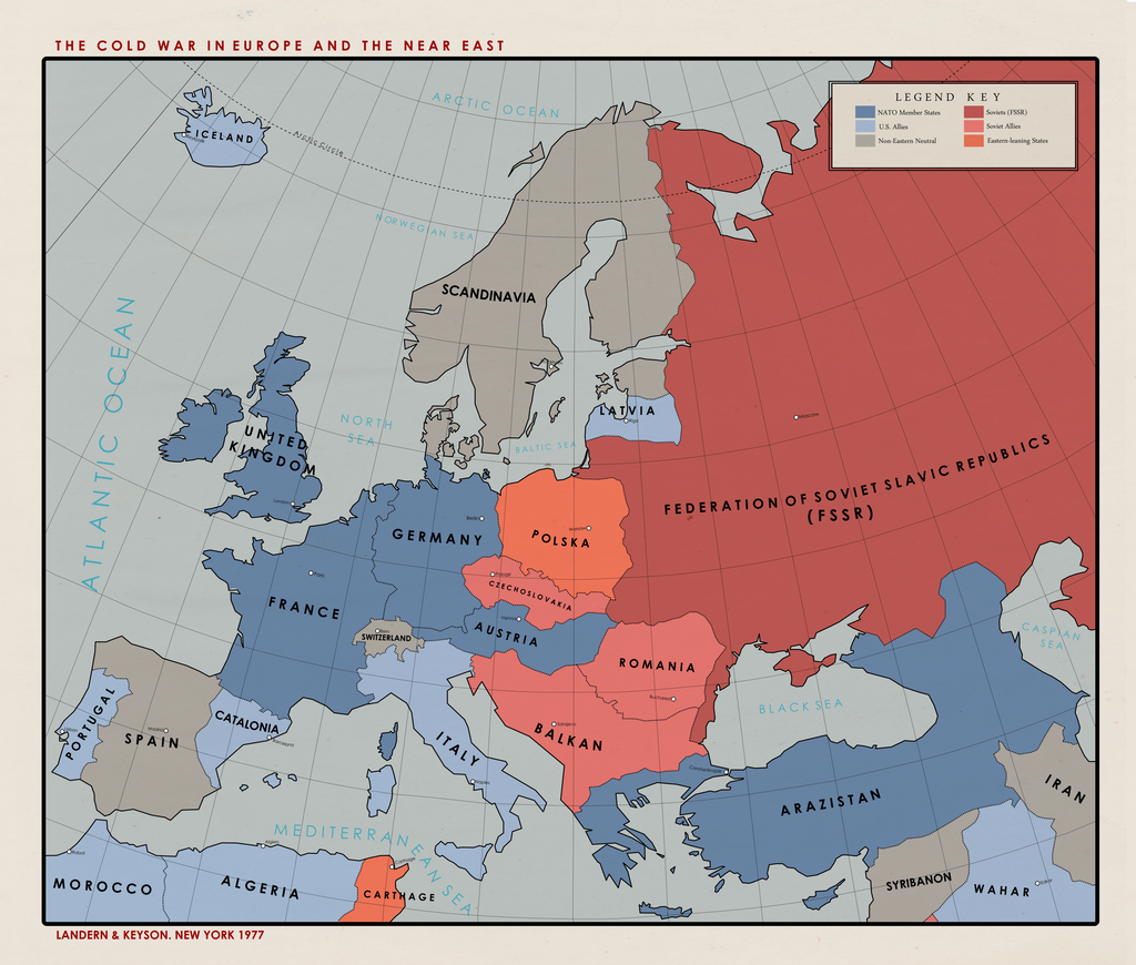 Ns Alternate Cold War 1977 By Paramountica