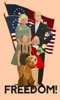 Freedom ... Paramerican Patriotic Ad