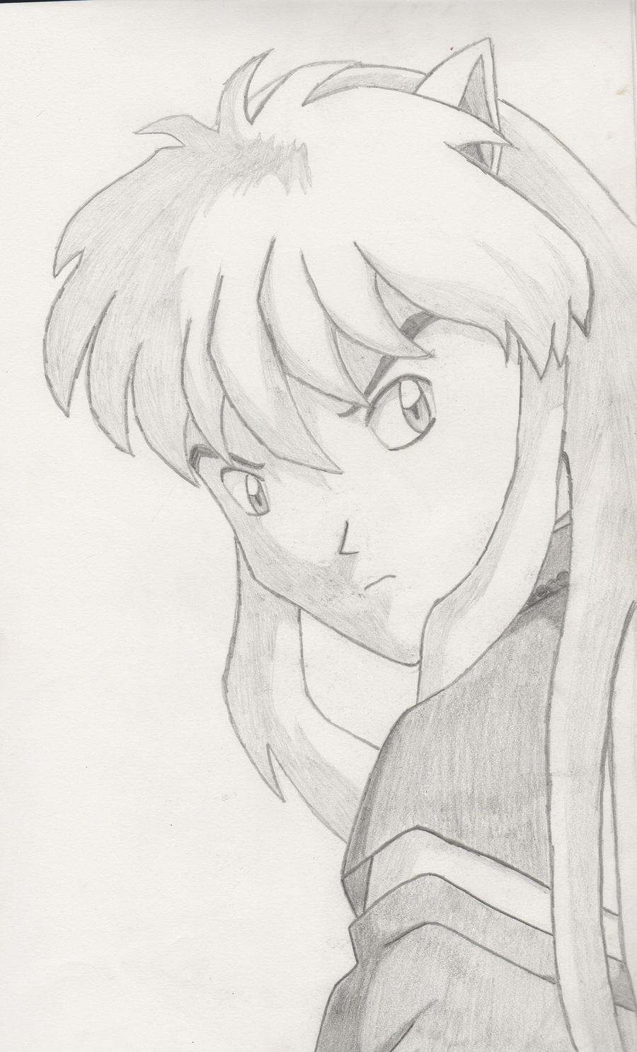 Inuyasha Sketch by lucidcoyote