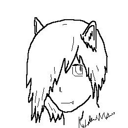 Neko Boy Sketch by lucidcoyote
