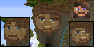 Build of My Minecraft Skin's Face
