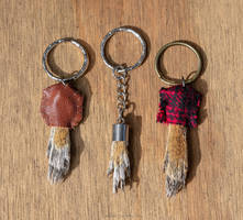 Squirrel Paw Keychains + for Sale
