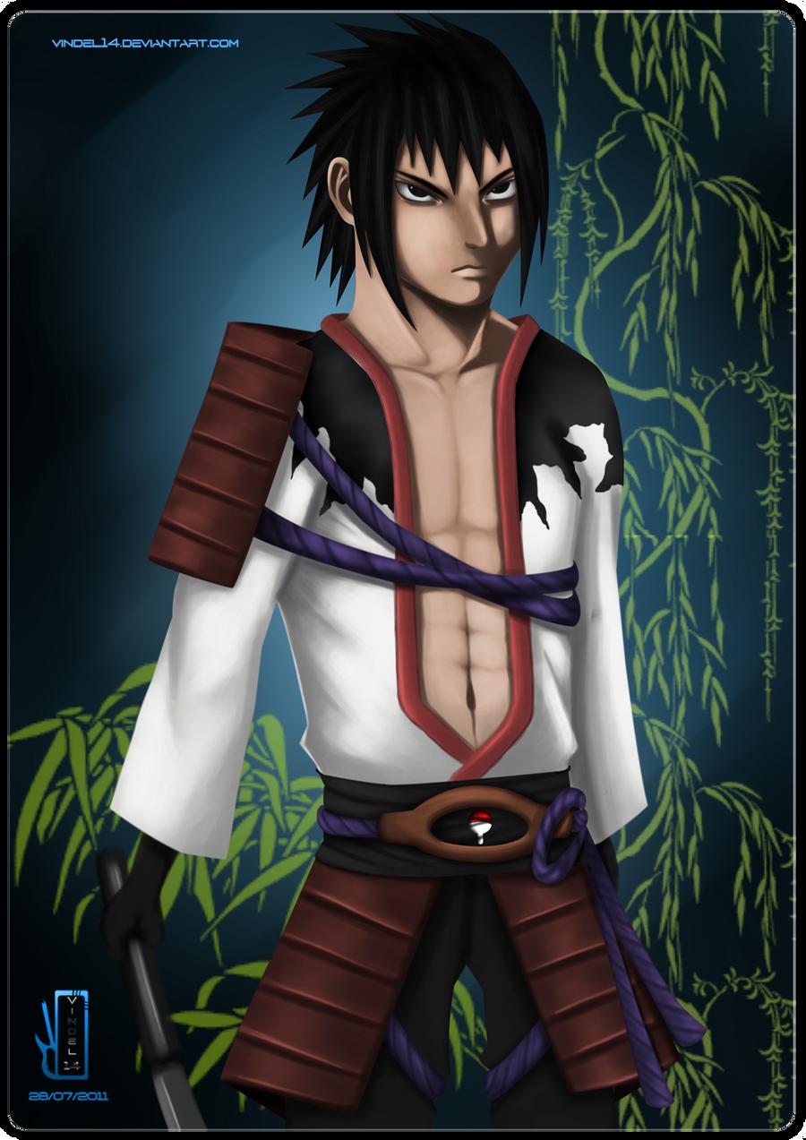 Contest: Sasuke New Outfit by vindel14 on deviantART