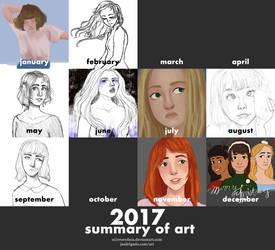 2017 SUMMARY OF ART by m1rroredsea