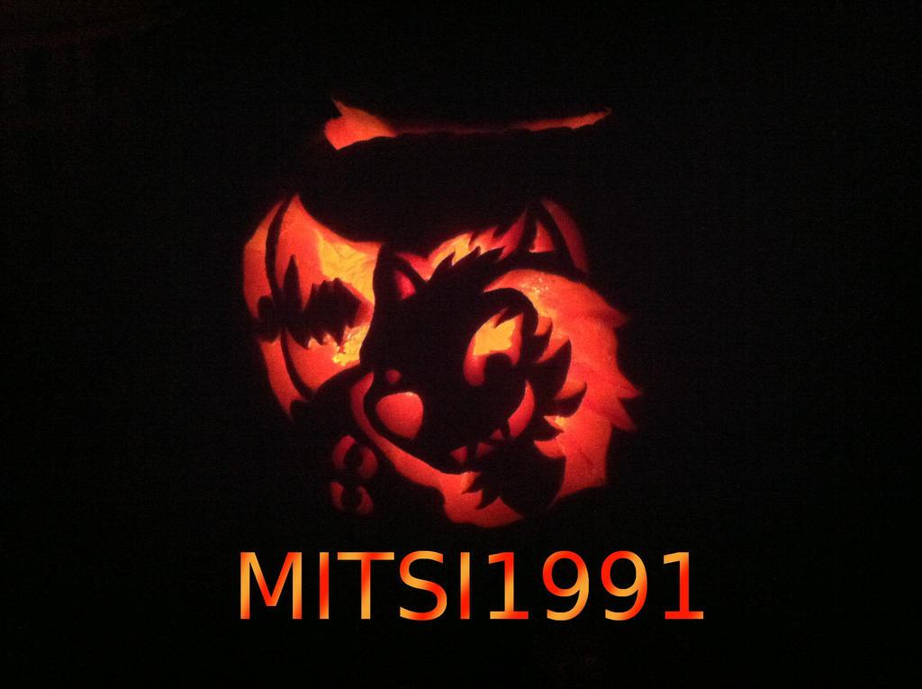 KIM pumpkin 2014 by Mitsi1991