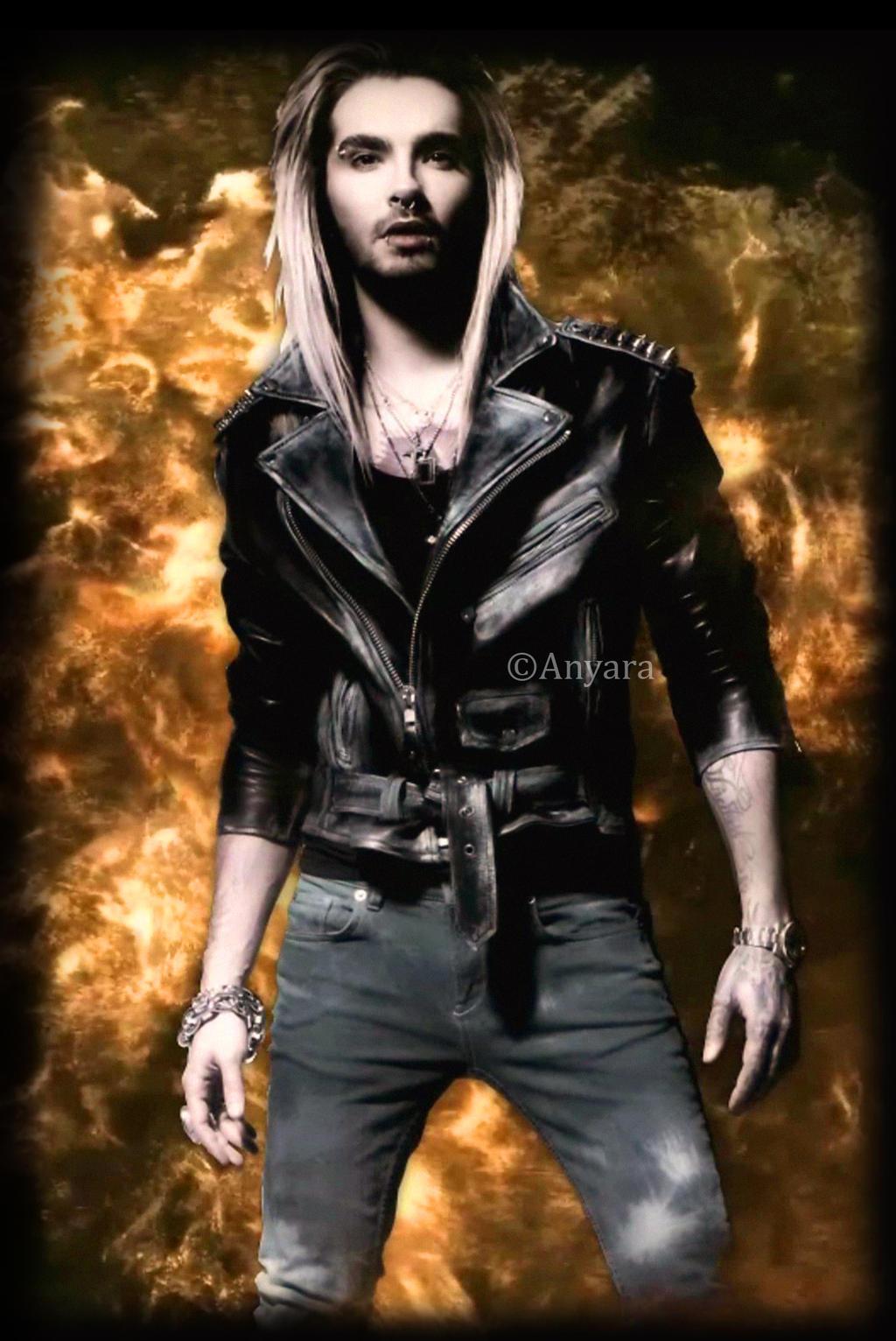 Bill Kaulitz Fire