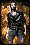 Bill Kaulitz Fire