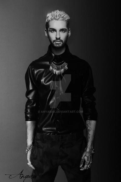 Bill Kaulitz Black