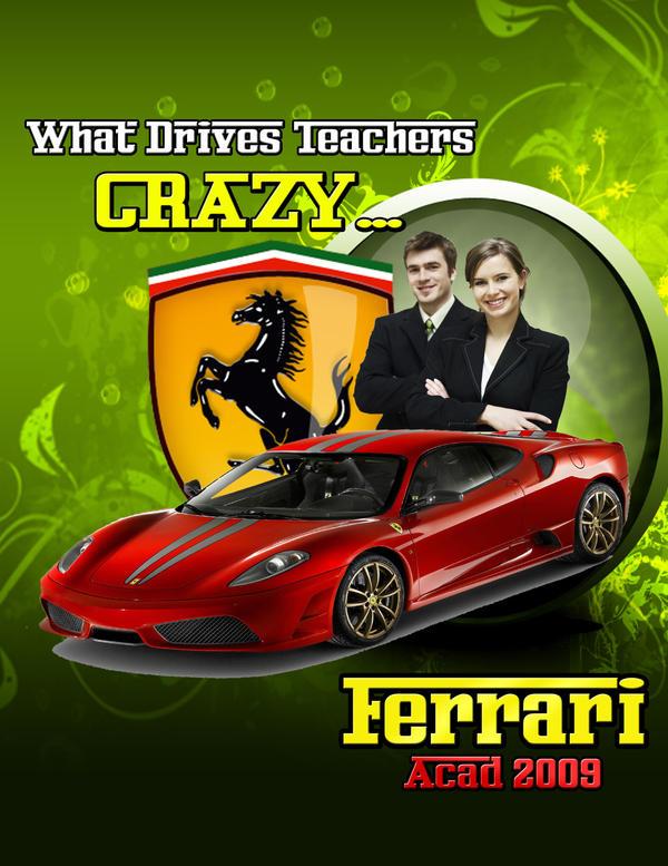 Ferrari Ad By Jerkimdegals On Deviantart