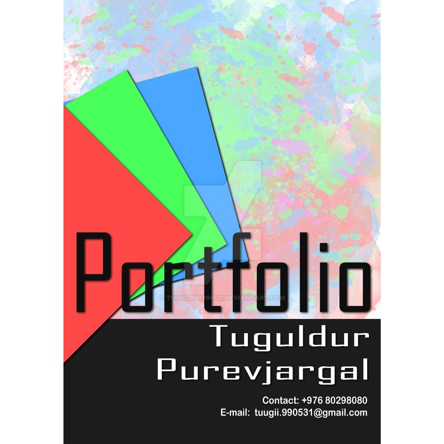 portfolio front cover