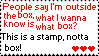 Outside The Box - Stamp