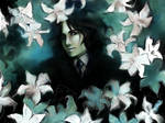 Young Severus with lily