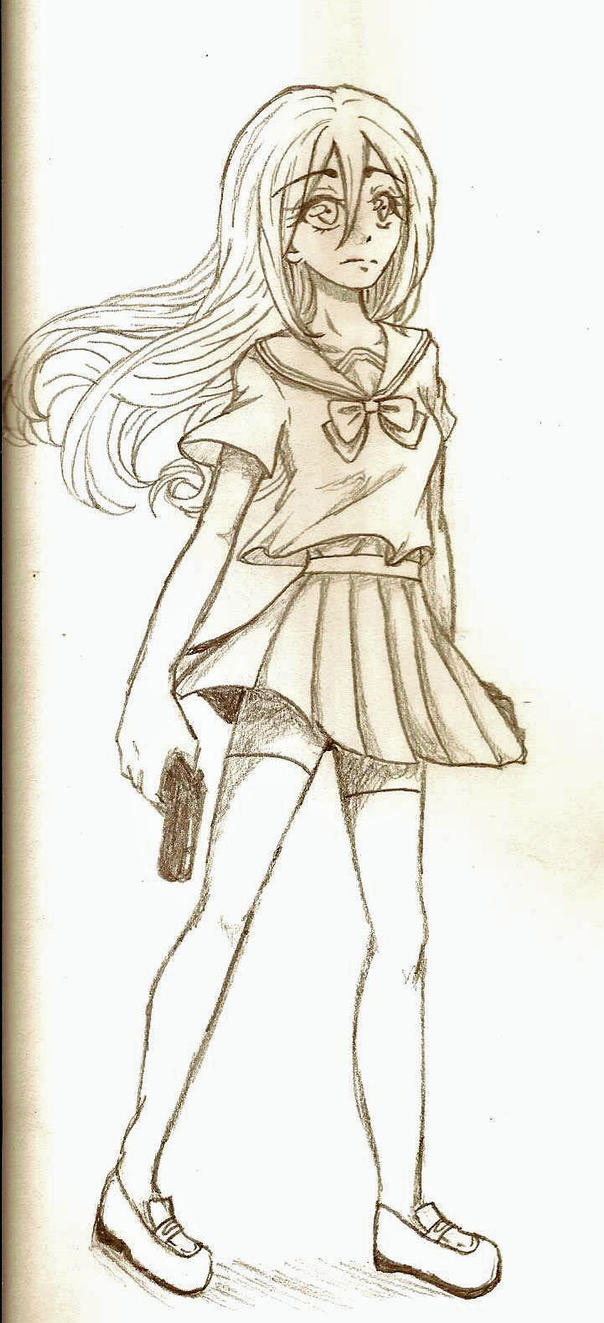 Random Girl 234 by Margaretto-Ri