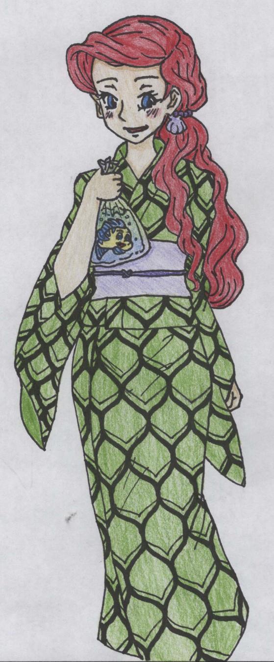 Disney Princess Summer Festival   Ariel by Margaretto-Ri