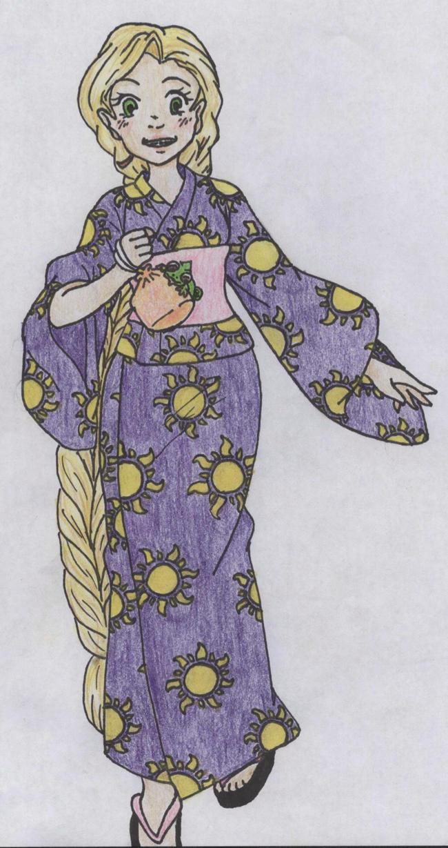 Disney Princess Summer Festival   Rapunzel by Margaretto-Ri