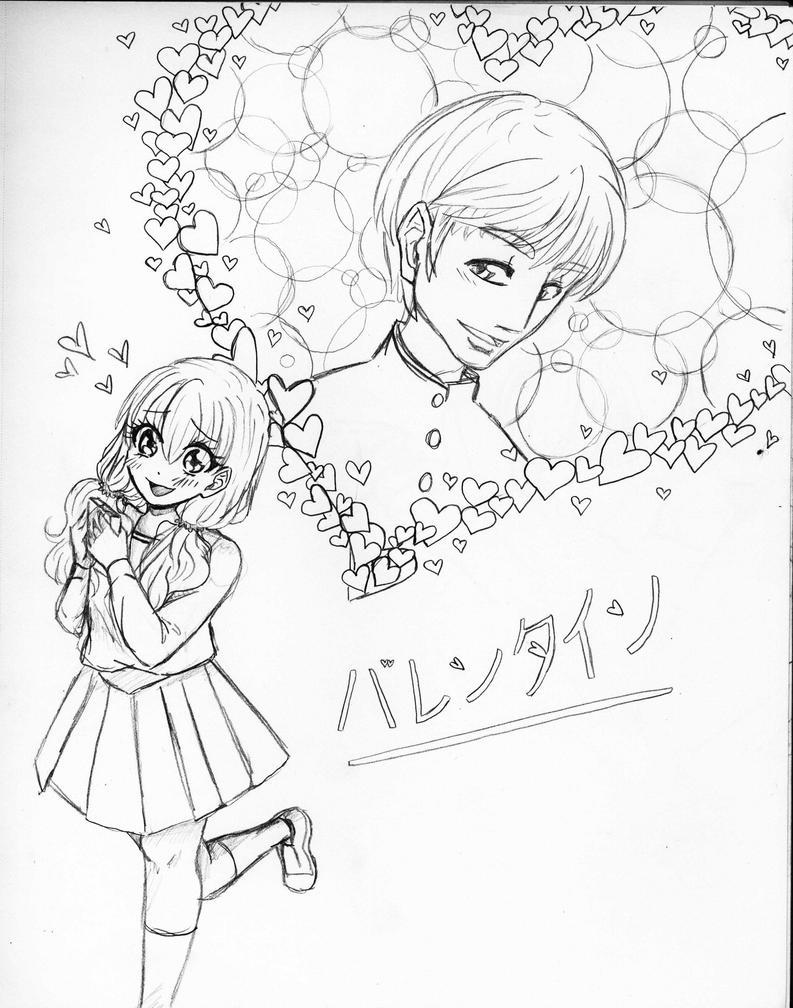 Shoujo Valentine by Margaretto-Ri
