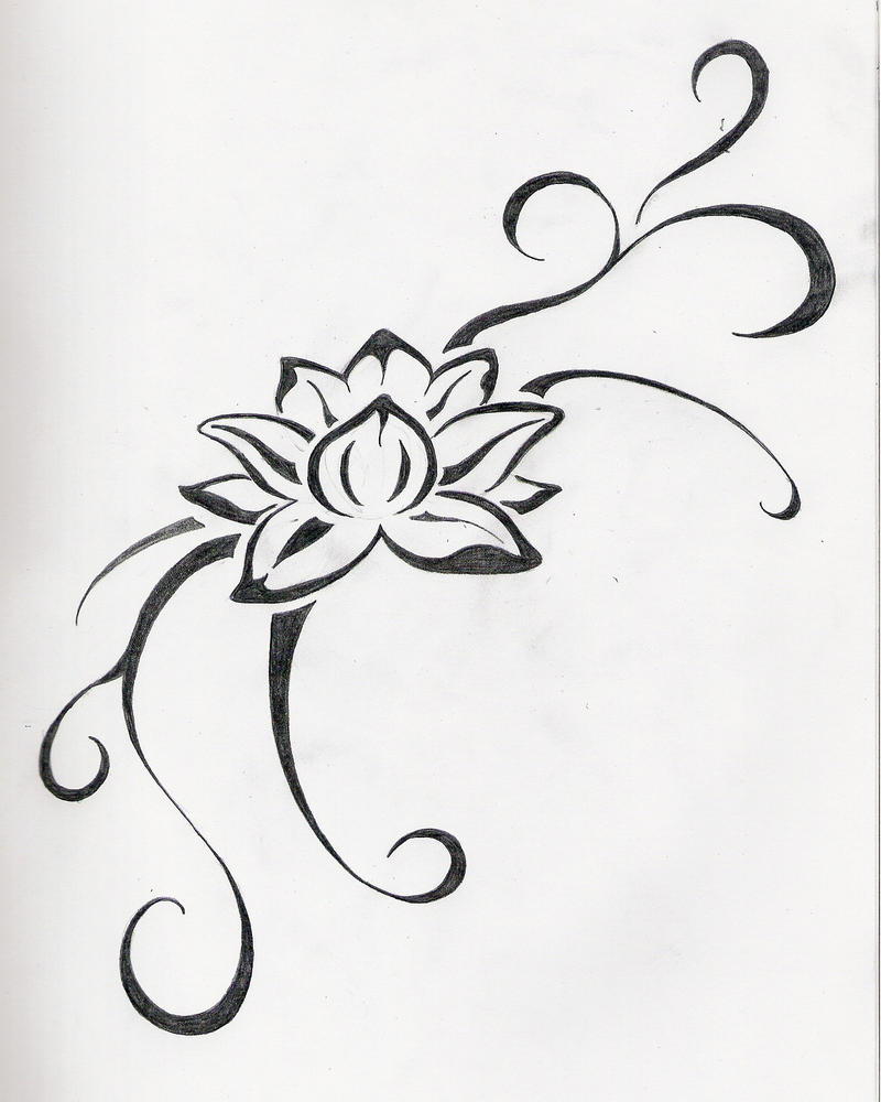 Flower for Emi - flower tattoo