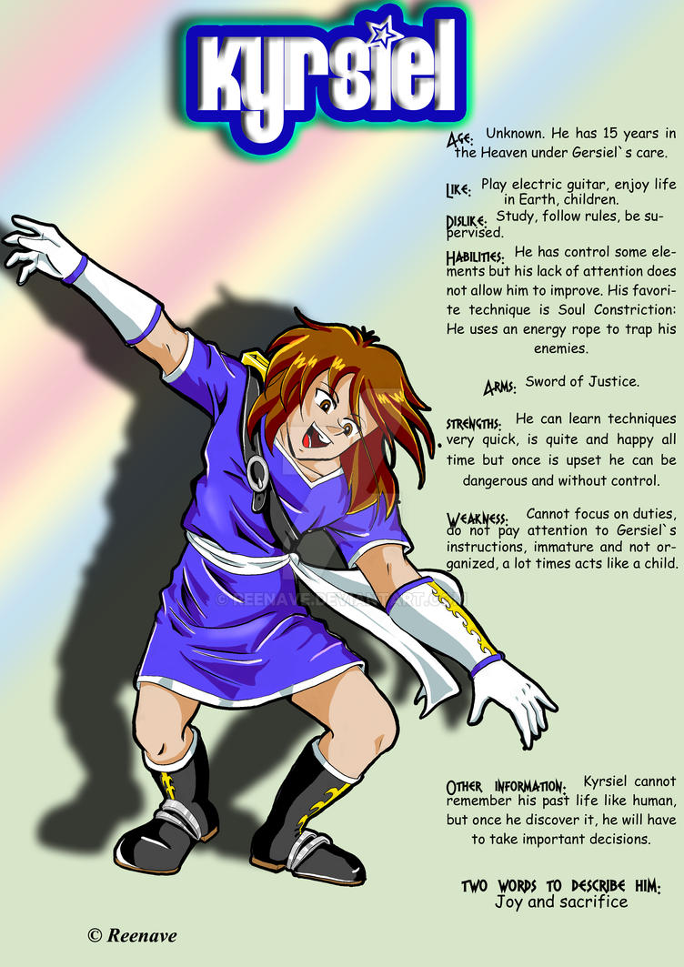 Kyrsiel Info by Reenave