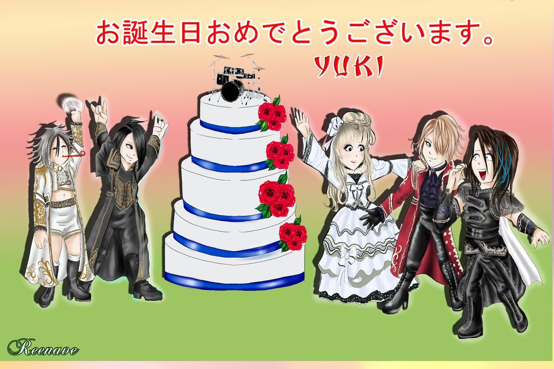 Yuki Birthday Final by Reenave