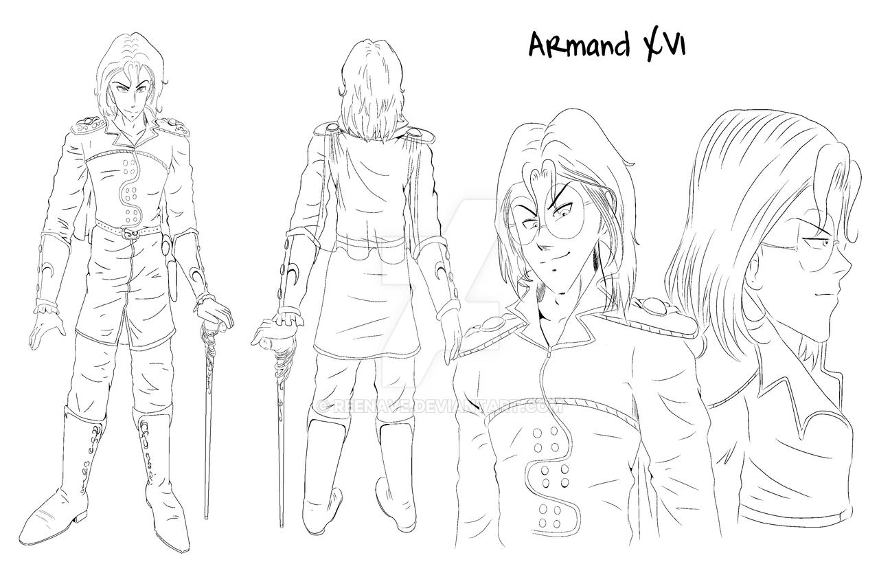 Steel Blood - Characters - Armand XVI by Reenave